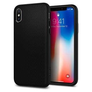 USED Spigen iPhone X Case Liquid Air