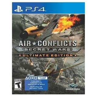 PS4 AIR CONFLICTS SECRET WARS ULTIMATE EDT (R1- USA)