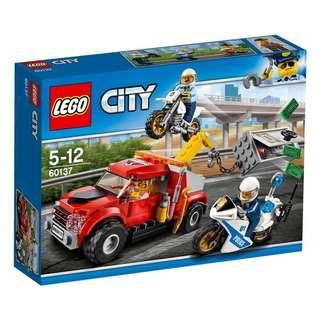 🆕️ Lego City Tow Truck Chase 60137