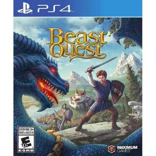 PS4 BEAST QUEST (R1- USA)