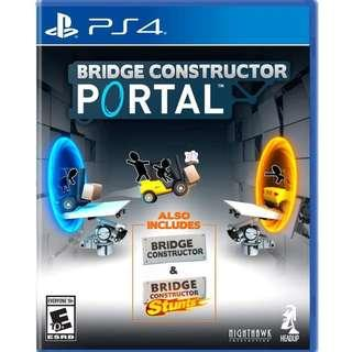 PS4 BRIDGE CONSTRUCTOR PORTAL (R1 - USA)