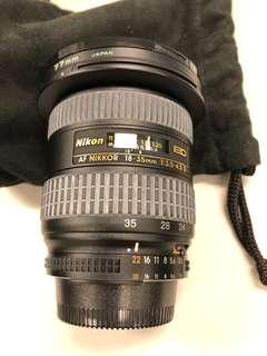 nikon ultra wide lens, 18-35mm, ff lens