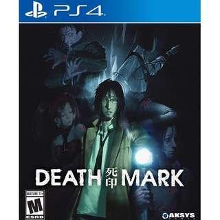 🚚 PS4 DEATH MARK (R1-USA)
