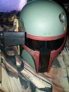 Star wars boba fett helmet electronics sound Hasbro