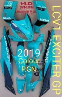 COVERSET YAMAHA LC135 V1 EXCITER GP 2019