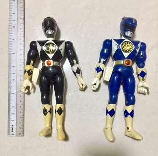 BANDAI Movable Power Rangers Figurines