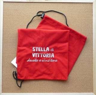 獨家 紅色 SdV羽毛球或壁球拍絨布袋 特價清貨 一減再減 原價$35 特價$30 Badminton Racquet Bag * 只餘少量