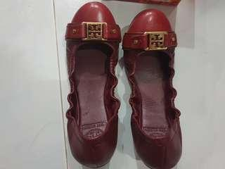 Tory Burch Flats AUTHENTIC Ambrose Ballet limited edition