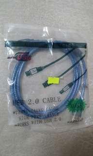 USB2.0線