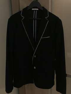 Zara Men Blazer Jacket in Navy Color  藍色男裝外套