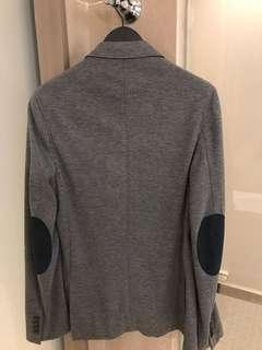 Zara Men Blazer Jacket in Grey Color 男裝灰色外套