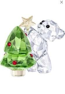 Swarovski Christmas bear 2018