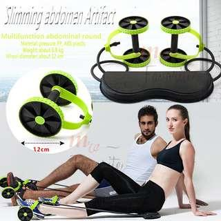 Revoflex Xtreme Ab Rollers Fitness Equipments muscle building