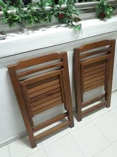 CHAIRS Folderable Quality Wooden