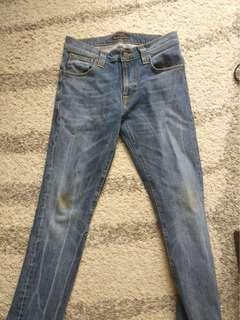 Nudie Jeans Tape Ted (Crisp Contrast) for men Size W29 L32