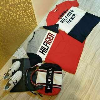 Tommy Hilfiger Tshirt,  Sneakers,  Mini Duffle