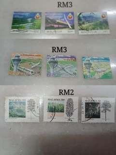 Malaysia used stamp set