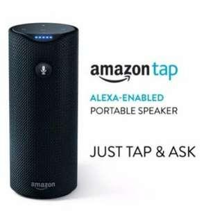 Amazon Tap Portable Bluetooth Speaker with Alexa Voice Assistant Command Control Embedded And Dolby Sound