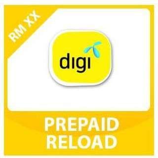 Digi instant Reload Topup RM5