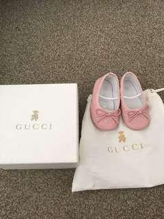 Authentic baby Girl Gucci shoes