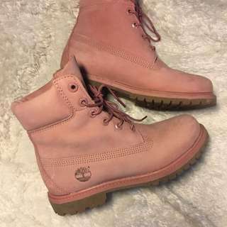 Limited Edition Dusty Rose Timberlands