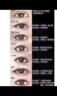 Eye liner Embroidery
