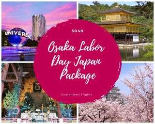Osaka Labor Day Vacation Package