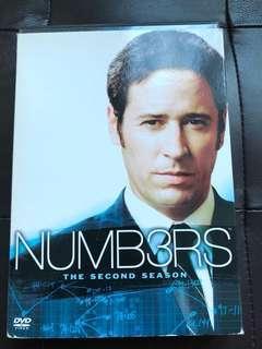 DVD - Numbers , second season