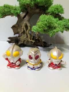 收藏品鹹蛋超人三隻
