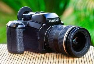 Pentax 645N + 3 Lenses