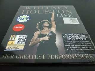 Whitney Houston Live - Her Greatest Performances CD & DVD