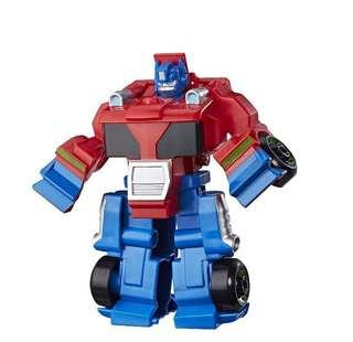 Playskool Heroes Rescue Bots Optimus Prime Red
