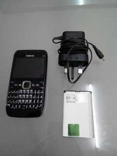 Used Preloved Vintage Nokia E63