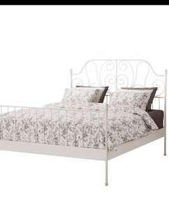 "IKEA BED FRAME "" DOUBLE SIZE """