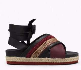 (37) Sepatu Sandal Berpita Adorable Sandal Ballet
