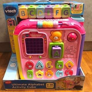 Vtech Light Up Baby Touch Tablet Pink Babies Kids Toys