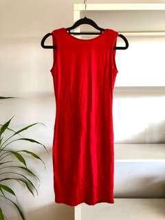 BRAND NEW Cowl Back Dress