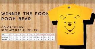 Winney the pooh T shirts