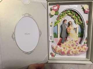 Wedding photo frame with music 音樂結婚相架