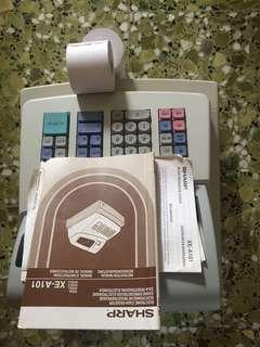 Used Sharp Cash register XE-A101