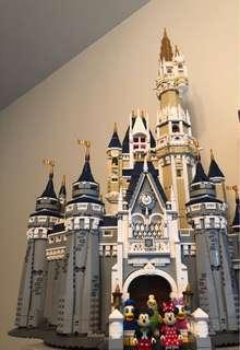 Lepin Disney castle (completed)