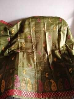 Saree - Mixture of silk & cotton