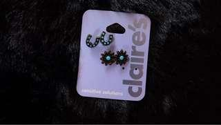 Claire's Sensitive Solutions Earrings