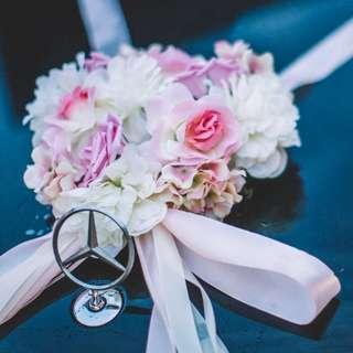 [Ready Stock ]Bridal Car Decoration