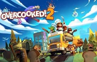 (BNIB) Switch Overcooked 2