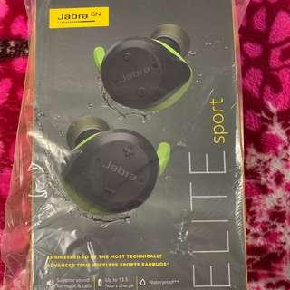 (Unopened box) Jabra Elite Sport Wireless Waterproof Earbuds with Heart Rate and Activity Tracker