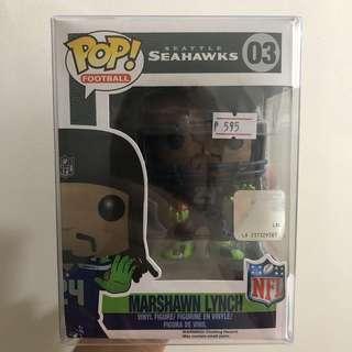 Funko Pop Seattle Seahawks Marshawn Lynch