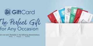 SM Gift Cards in 1k Denomination