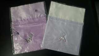 Brand New - Drawstring Bag (Korean Style) - set of 2