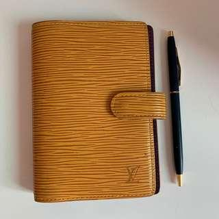 Authentic Lv Organizer with ballpen